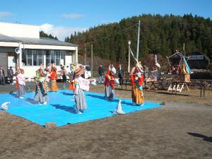 新浪神社例大祭20121103c鶏舞04