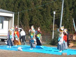 新浪神社例大祭20121103c鶏舞02