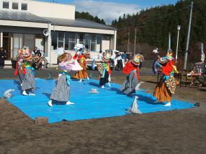 新浪神社例大祭20121103c鶏舞11