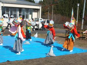 新浪神社例大祭20121103c鶏舞08