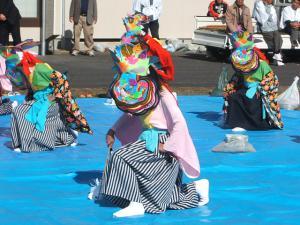 新浪神社例大祭20121103c鶏舞09