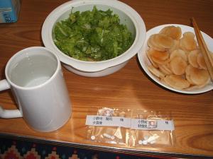 私の夕食01