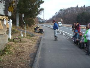 20121216重箱石しめ縄作り38