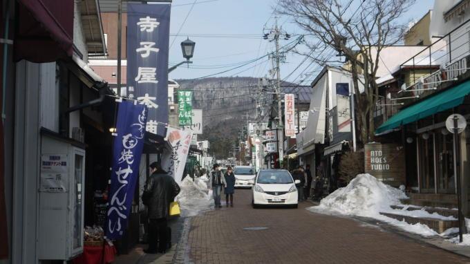 軽井沢銀座 冬01
