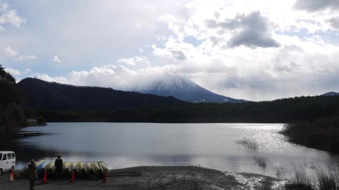 西湖から富士