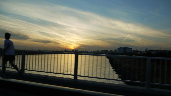 ゲイトブリッジ夕焼け06
