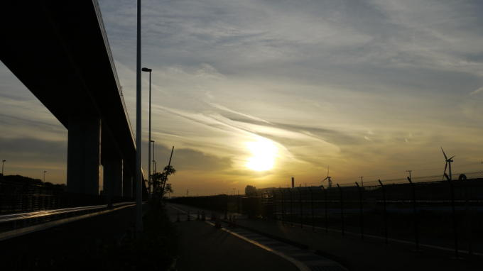 ゲイトブリッジ夕焼け01