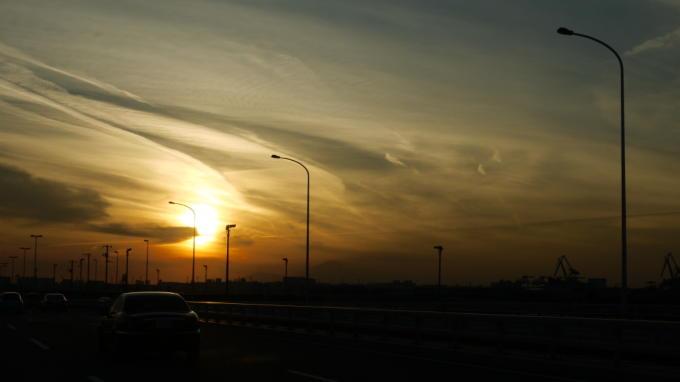 ゲイトブリッジ夕焼け03