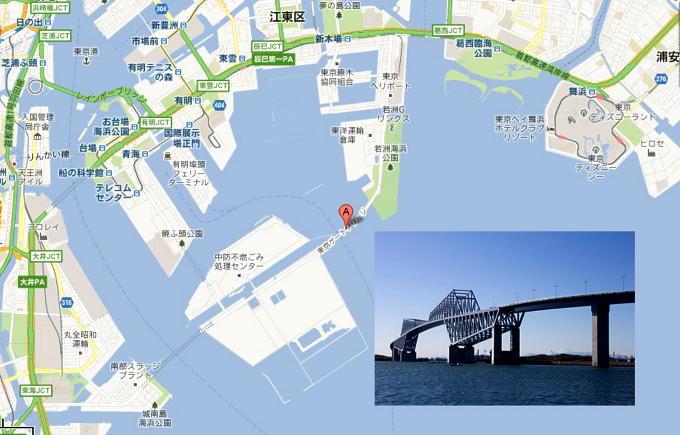 ゲイトブリッジ地図