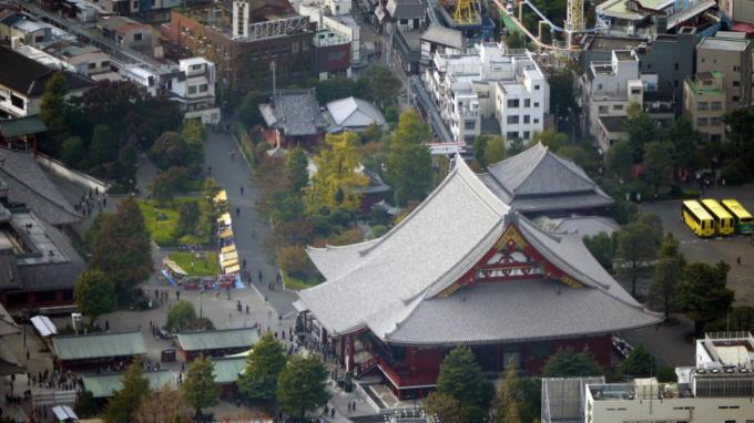 天望回廊から浅草寺02