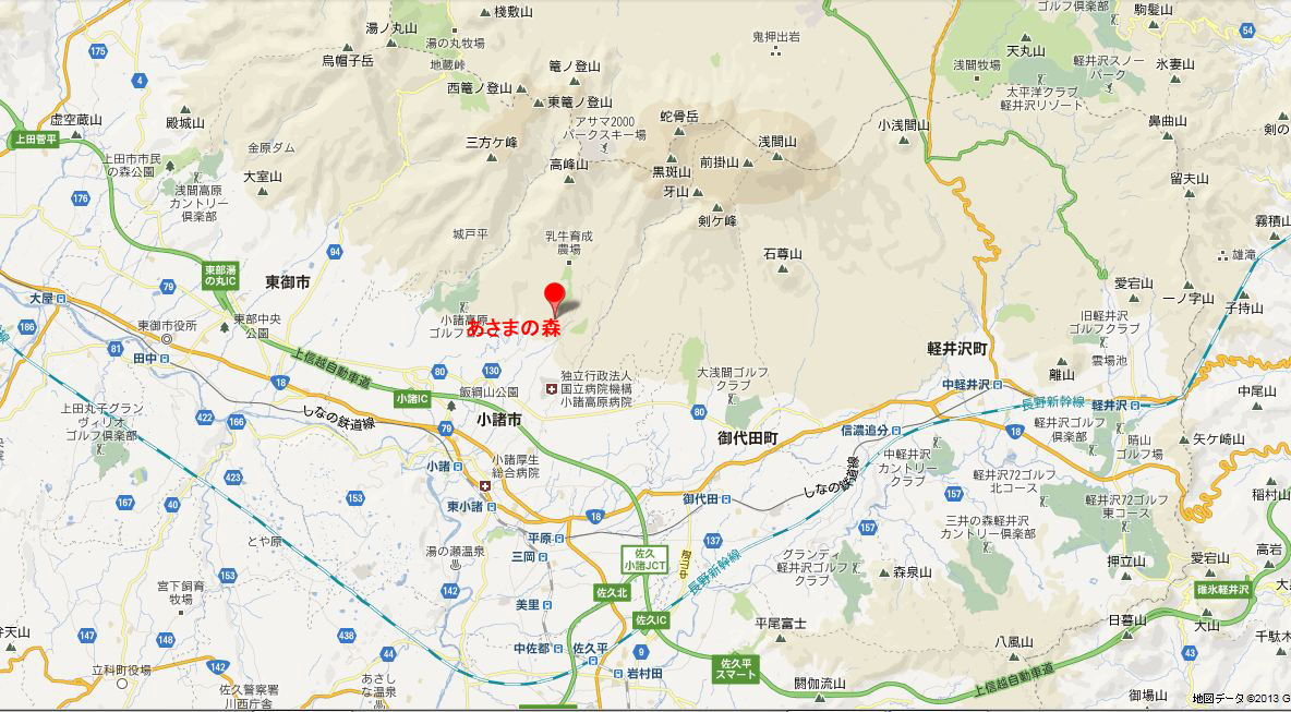 あさまの森-マップ01