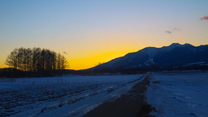 八ヶ岳夕焼け-05