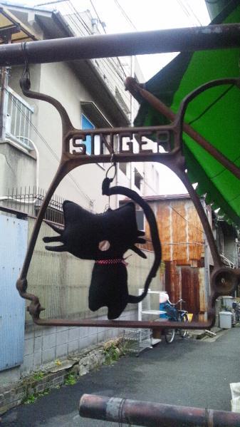 看板猫(かにゃんこぬいぐるみ)