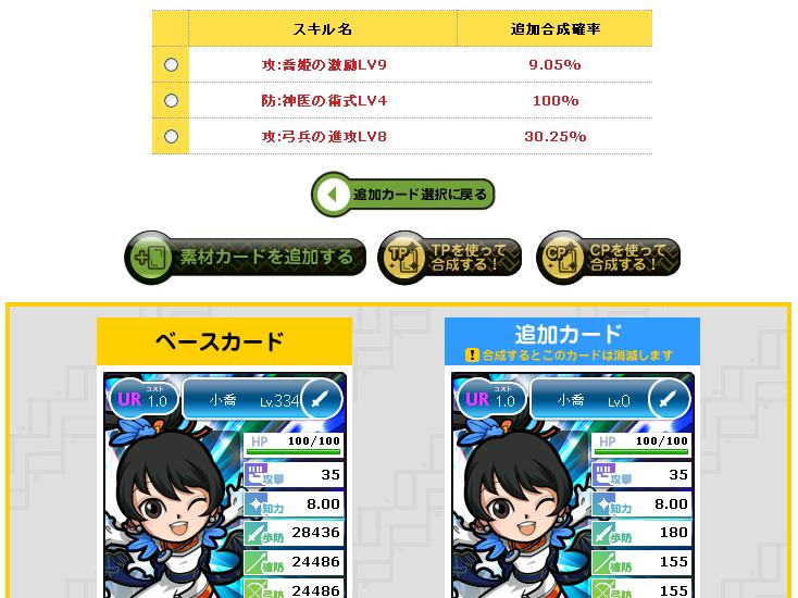 喬姫の激励LV10挑戦