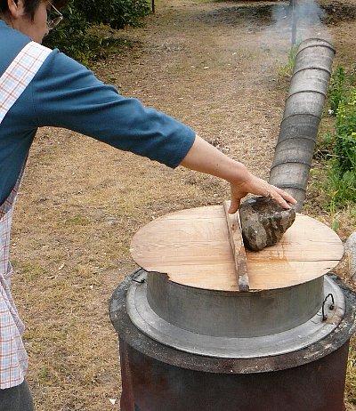 タケノコドラム釜