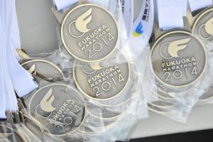 福岡マラソンメダル
