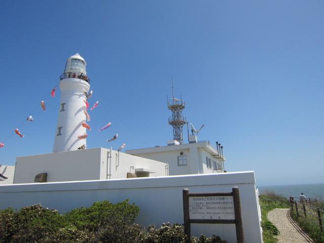 犬吠先の灯台