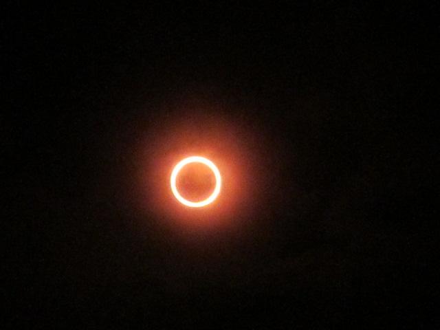 金環日食 20120521