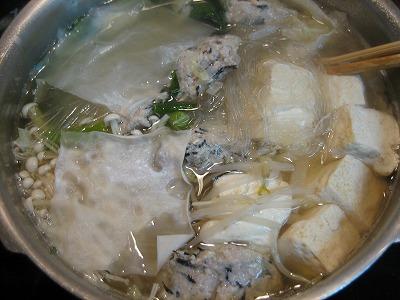 すっきり塩味のしょうが鍋スープ