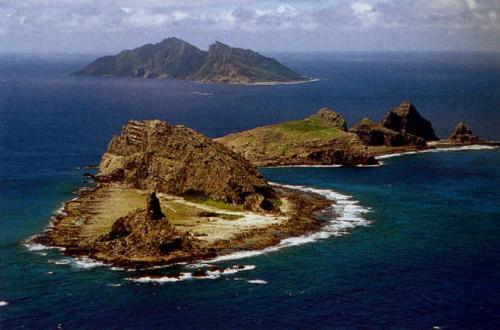 尖閣諸島写真500