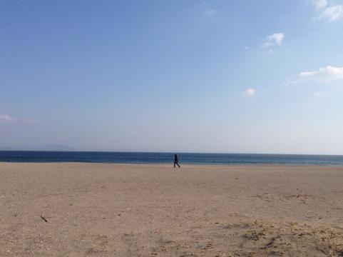 三浦海岸の正月2