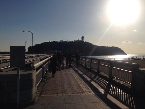 江ノ島2014初詣1