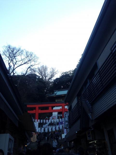 江ノ島2014初詣7