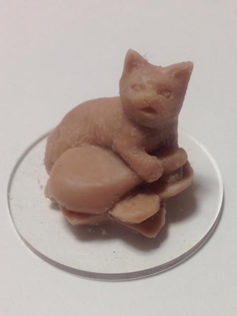 弁天猫原型製作記4