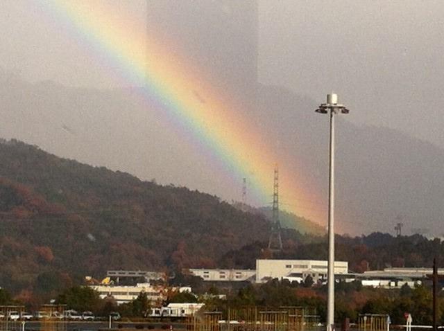 佐伯区の虹 2