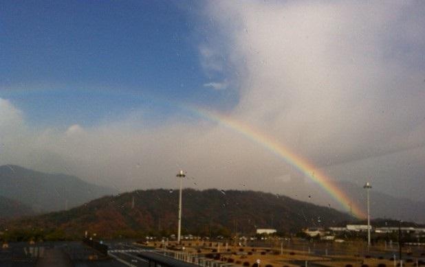 佐伯区の虹1