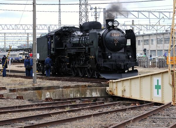 ターンテーブルも貴重な鉄道文化遺産・・・だと思う。
