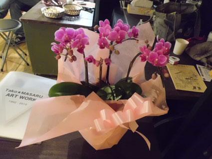ギャラりーにお花