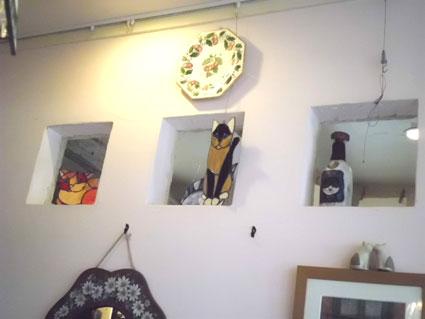 天井の猫2