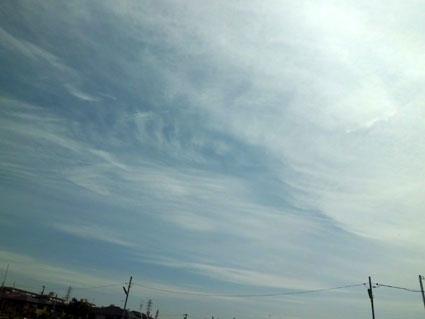 ベールの雲