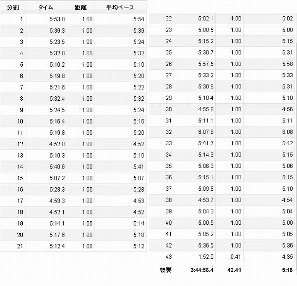 東京マラソン2013 rap