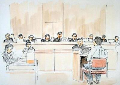 認知症の母親を殺害して無理心中を図ったとみられる事件の初公判