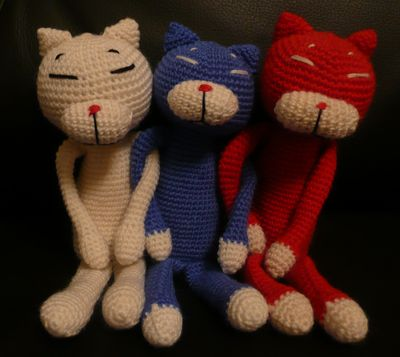 ロシアンな編み猫01