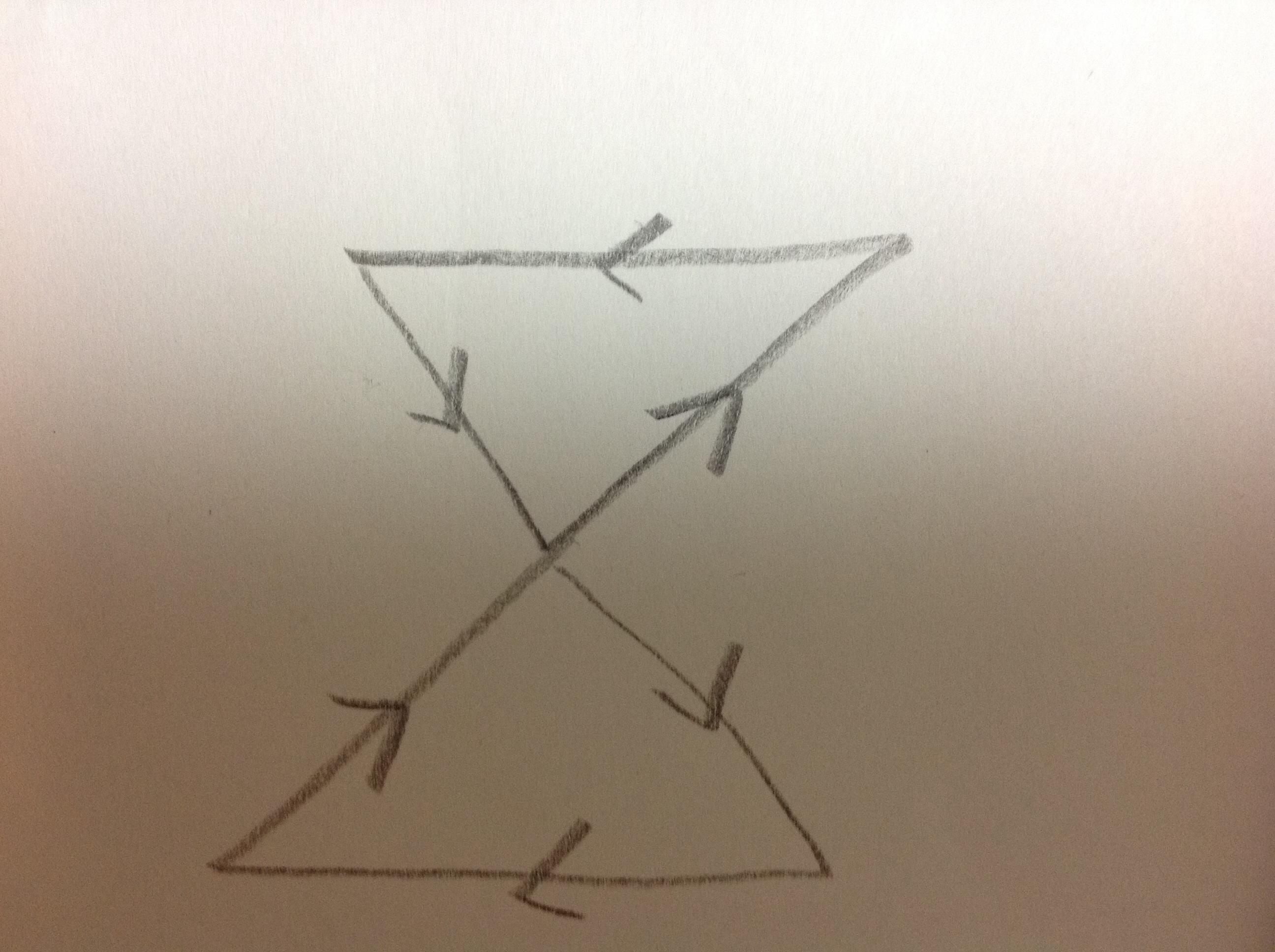 三角メビウス