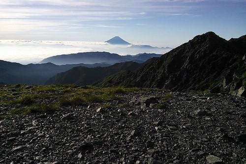 富士山を左手に眺めながら