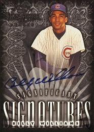 1998 Donruss Signature Significant Signatures Billy Williams