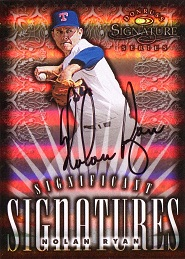 1998 Donruss Signature Significant Signatures Nolan Ryan