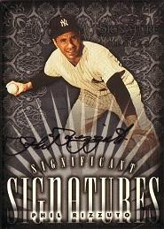 1998 Donruss Signature Significant Signatures Phil Rizzuto