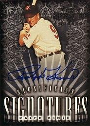 1998 Donruss Signature Significant Signatures Ralph Kiner