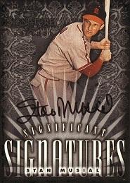 1998 Donruss Signature Significant Signatures Stan Musial