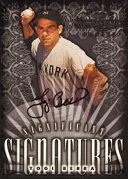 1998 Donruss Signature Significant Signatures Yogi Berra