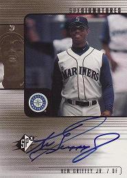 2000 SPx Signatures Ken Griffey Jr.