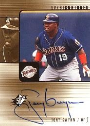2000 SPx Signatures Tony Gwynn