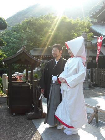 北野天満神社で挙式