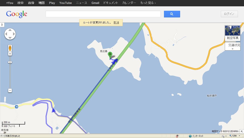 地図大島見近島