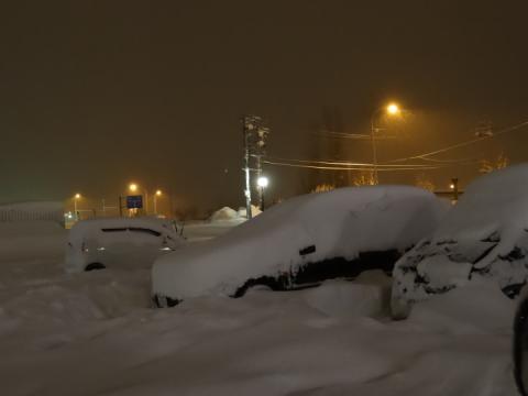 留萌の大雪 (2)